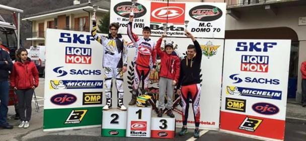 Tommaso Laghi terzo alla prima gara!